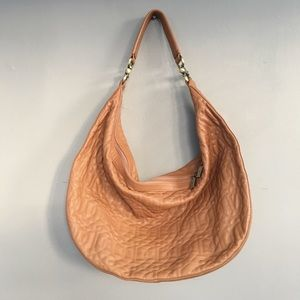 Donald Pliner Leather Hobo Bag